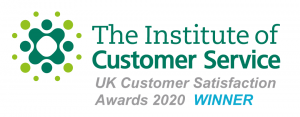 Institute of Customer Service Award Winner